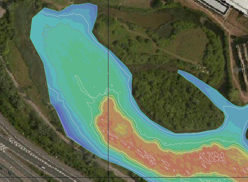 Lake bathymetry